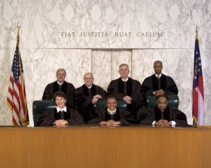 The Supreme Court of the State of Georgia and Justice Carol Hunstein, bottom left